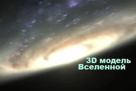 3D модель Вселенной (5 мин)