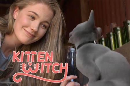 Кошечка Ведьма / Kitten Witch (9 мин)
